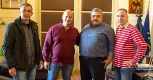 Συνάντηση με τον Νίκο Καλογερή είχε το Δ.Σ. της Ένωσης Στρατιωτικών Χανίων