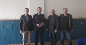 Η Ένωση Ξενοδόχων δώρισε ψηφιακό ταχογράφο στην Αστυνομία
