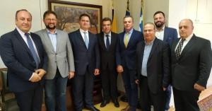 Συνάντηση του ΕΟΑΕΝ με τον Υφ. Τουρισμού κ. Μάνο Κόνσολα για τους επαγγελματίες του κλάδου