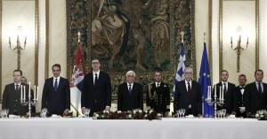 Στο επίσημο δείπνο προς τιμήν του Προέδρου της Σερβίας ο Δήμαρχος Ηρακλείου