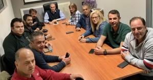 Συνάντηση Καλαντζάκη με τα μέλη της παράταξης