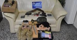 Φονικό στη Βοιωτία: Μάσκες, όπλα και φυσίγγια πίσω από την εκτέλεση πατέρα και γιου