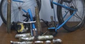 Ο αστυνομικός σκύλος Kym «ξετρύπωσε» ένα κιλό χασίς από τον… σκελετό ποδηλάτου!