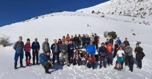 Ορειβατικός Αγ. Νικολάου: Πεζοπορία στη χιονισμένη Σελένα