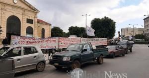 Στην πλατεία Αγοράς οι Αγρότες των Χανίων - Πορεία στην Αντιπεριφέρεια (φωτο-Βίντεο)