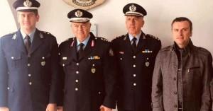 Στα εγκαίνια του Αστ. Σταθμού Μακρύ Γιαλού η Ένωση Αξιωματικών ΕΛ.ΑΣ. Περιφέρειας Κρήτης