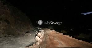 Τα ξημερώματα ολοκληρώθηκε η διάσωση των περιπατητών στα ορεινά των Σφακίων