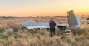 Το drone της FRONTEX έπεσε στο Τυμπάκι