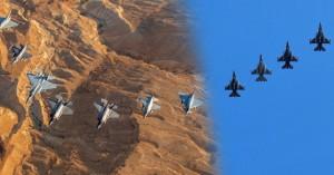 Ζεσταίνουν τους κινητήρες των F-16 Block 52 plus, τα κρητικά «γεράκια» της 115 Π.Μ