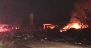 Κατέρρευσε κτίριο στο Χιούστον από την ισχυρή έκρηξη