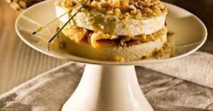 Μιλφέιγ τυριού με Calvados