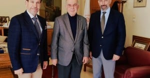 Στην Λότζια ο Πρέσβης της Ουγγαρίας