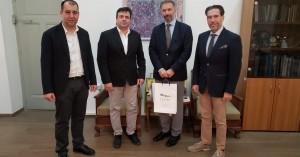 Επίσκεψη του Ούγγρου Πρέσβη στη Περιφέρεια Κρήτης