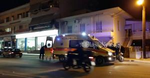Τροχαίο ατύχημα με τραυματία στην οδό Κισάμου στα Χανιά (φωτο)