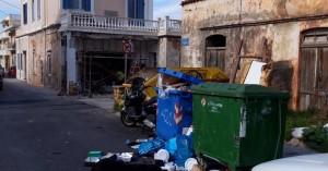 Απέραντο σκουπιδαριό στη Χαλέπα (φωτο)