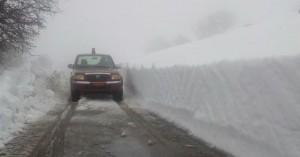 Πάνω απο 4 μέτρα το χιόνι στο Οροπέδιο Λασιθίου