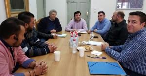 Συνάντηση γνωριμίας Νίκου Συριγωνάκη - Δ.Σ. εκπαιδευτών οδήγησης