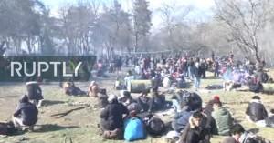 Χάος στα σύνορα και νέος γύρος επεισοδίων - Δείτε live video από Ανδριανούπολη