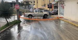 Βλάβη σε αγωγό ύδρευσης στο Γάζι