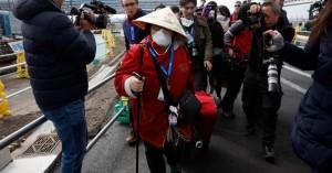 Αποβιβάστηκαν στη Γιοκοχάμα εκατοντάδες επιβάτες του κρουαζιερόπλοιου Diamond Princess