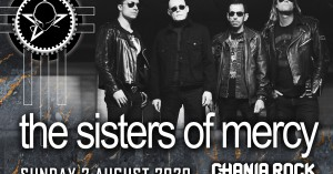 Oι Sisters of Mercy στα Χανιά στο Chania Rock Festival!