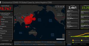 Κορωνοϊός: Δείτε ζωντανά σε διαδραστικό χάρτη την εξάπλωση του ιού