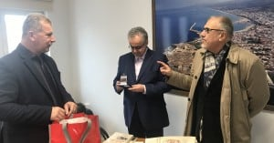 Εθιμοτυπική επίσκεψη από φορείς της αυτοδιοίκησης στην Πρυτανεία του Πανεπιστημίου Κρήτης