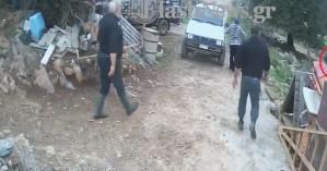 Βίντεο: Η στιγμή του φονικού στις Κουρούνες Λασιθίου