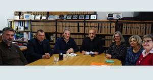 Συνεργασία για προώθηση θεμάτων τουρισμού συμφωνήθηκε στη συνάντηση Δ. Φραγκάκη και ΛΤΧ