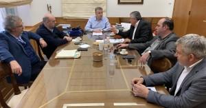 Τον Περιφερειάρχη Κρήτης επισκέφθηκε σήμερα το νέο Διοικητικό Συμβούλιο του ΕΣΔΑΚ