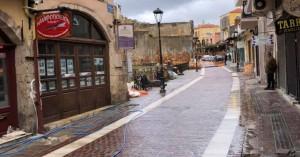 Άλλαξε τελείως όψη η Καραολή και Δημητρίου στην παλιά πόλη Χανίων (φωτο)