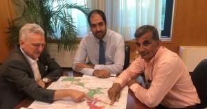 Τα έργα στον Δ. Αμαρίου σε συνάντηση του Δημάρχου με τον Υπουργό Υποδομών