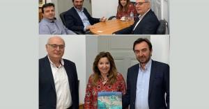 Η Πρόξενος της Ελλάδας στο Ντίσελντορφ στην Περιφέρεια Κρήτης