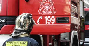 Ηράκλειο: Υπό έλεγχο η φωτιά στην Κνωσσό
