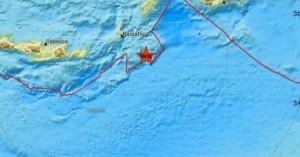 Σεισμός ταρακούνησε την Κάρπαθο