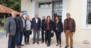 Την ανάγκη ανακαίνισης της υπάρχουσας κενής πτέρυγας στο ΘΧΠΧ επεσήμανε ο Μ. Βολουδάκης