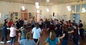 Σεμινάριο χορών της Θράκης από τον σύλλογο Βορειοελλαδιτών Χανίων (φωτο)