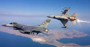 Νέες προκλήσεις: Πάνω από το βόρειο Έβρο πέταξαν τουρκικά F-16