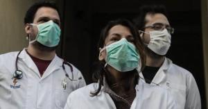 Παράλαβή μασκών και αντισηπτικών από το Υπουργείο Υγείας