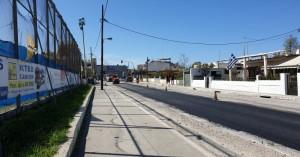 Συνεχίζονται οι εργασίες αποκατάστασης του ασφαλτοτάπητα στη Λεωφόρο Σούδας