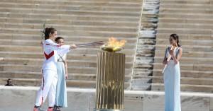 Ξεκίνησε το ταξίδι της Ολυμπιακής Φλόγας