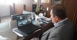 Τηλεδιάσκεψη για τα προβλήματα των αγροτών στον Δήμο Κισσάμου