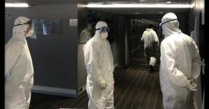 Κορονοϊός: Στα 41 έφτασαν τα κρούσματα στο πλοίο «Ελ. Βενιζέλος»