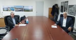 Συνάντηση του δημάρχου Αποκορώνου με τον διευθύνοντα σύμβουλο του ΟΑΚ