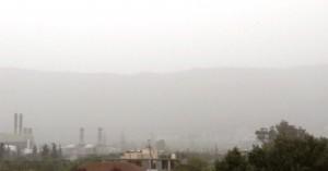 Και αφρικανική σκόνη στην ατμόσφαιρα της Κρήτης εκτός από θυελλώδεις ανέμους