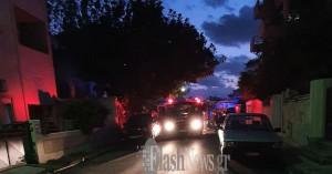 Φωτιά σε σπίτι στο κέντρο των Χανίων (φωτο + βιντεο)