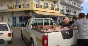 Πορτοκάλια κατ'οίκον σε ευπαθείς ομάδες από το Δήμο Μαλεβιζίου