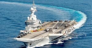 Κορωνοϊός: Το αεροπλανοφόρο Σαρλ ντε Γκολ επιστρέφει στη Μεσόγειο λόγω κρουσμάτων