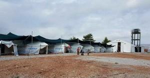 Κλιμάκιο του ΕΟΔΥ στο κέντρο φιλοξενίας προσφύγων της Μαλακάσας