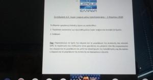 Παράταση αναστολής έως τις 24 Απριλίου στη Super League